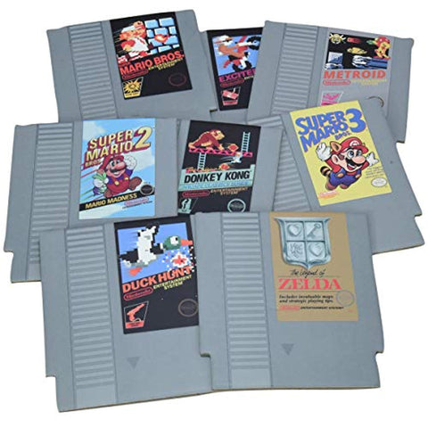 Nintendo NES Cartridge Coasters - Set of 4 - Offer Games