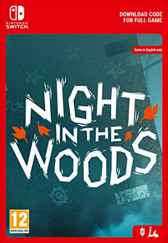 Night in the Woods - Nintendo Indie (Nintendo Switch Download Code)