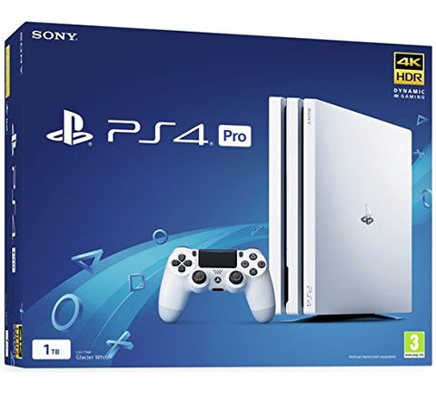 PlayStation 4 Pro 1TB White Console - Offer Games