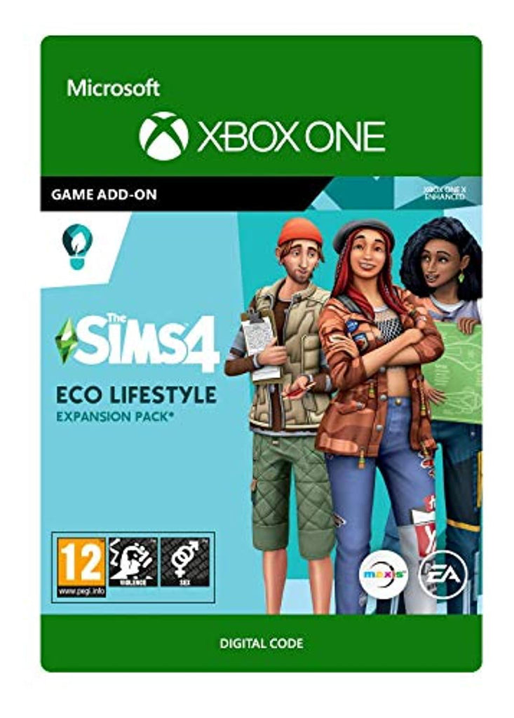 The Sims 4 Eco-Lifestyle (Xbox One Download Code)