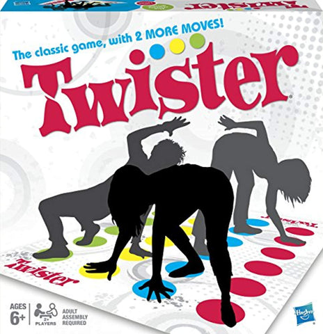 Hasbro Gaming Twister Board Game - Offer Games