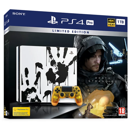 Limited Edition Death Stranding PS4 Pro Console - Offer Games