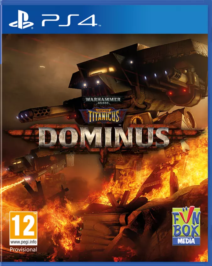 Warhammer 40,000: Adeptus Titanicus: Dominus (PS4) - Offer Games