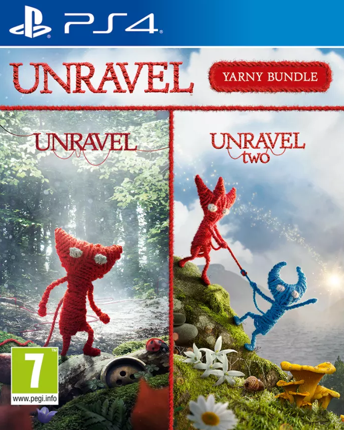Unravel Yarny Bundle (PS4) - Offer Games
