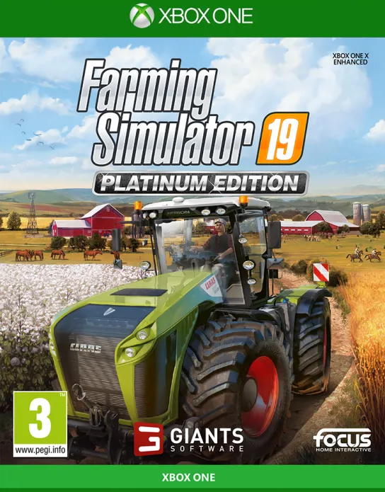 Farming Simulator 19 Platinum Edition (Xbox One) - Offer Games