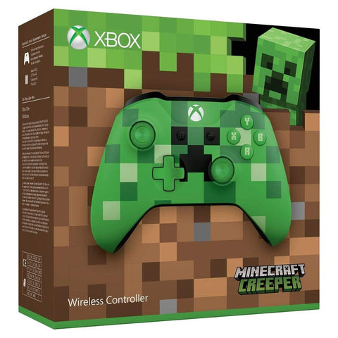 Xbox One Wireless Controller - Minecraft Creeper - Offer Games