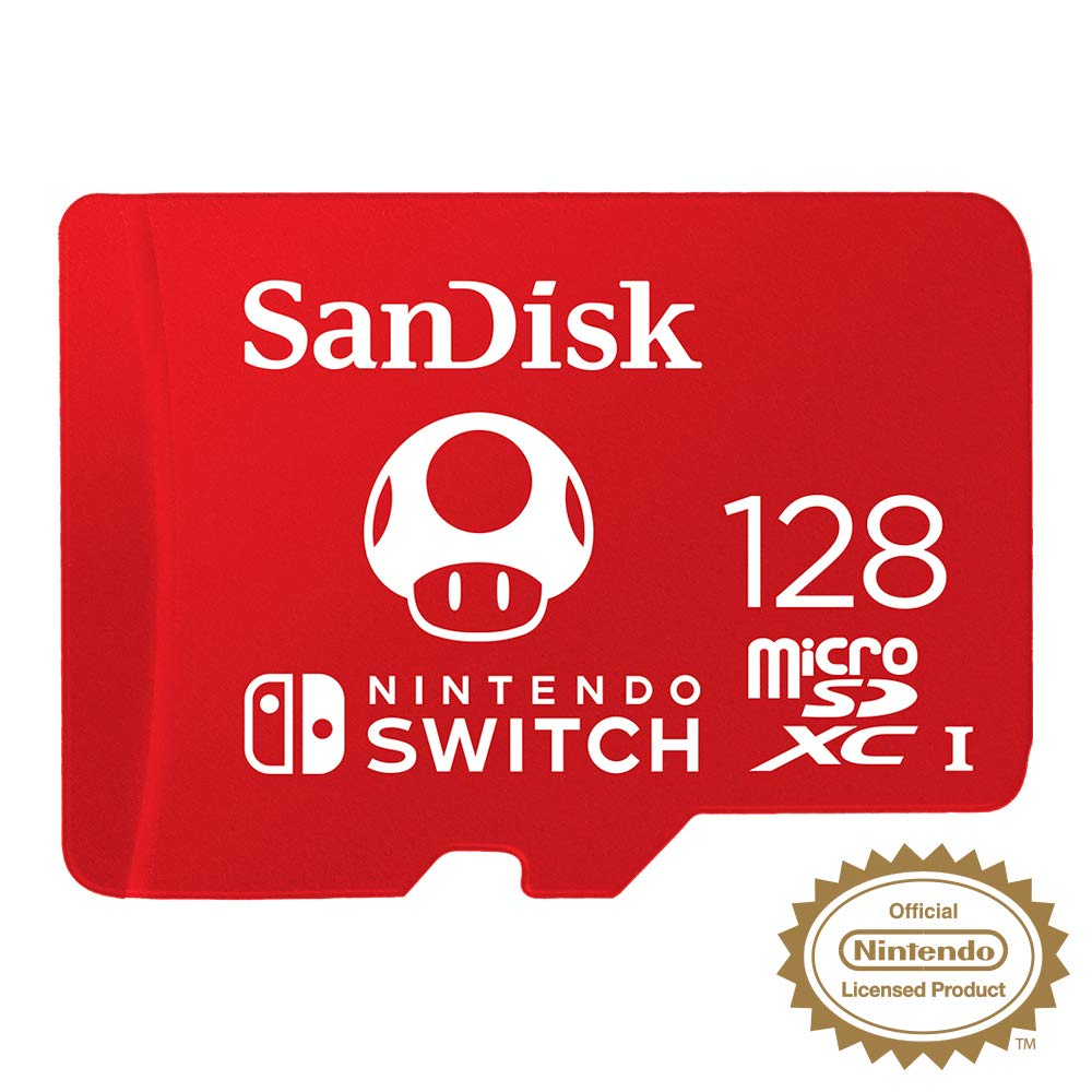 SanDisk Nintendo Switch Micro SD Card (SDXC) - Offer Games