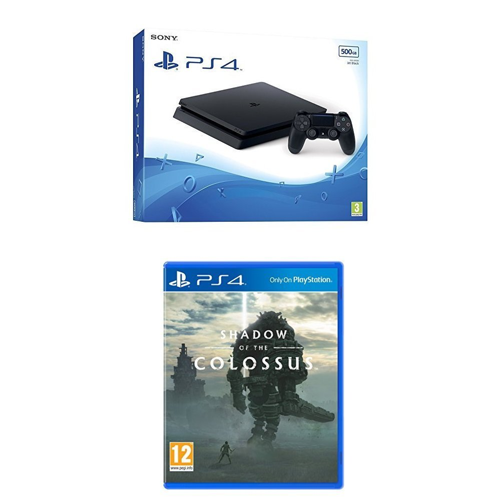 PlayStation 4 500GB + Shadow of the Colossus - Offer Games