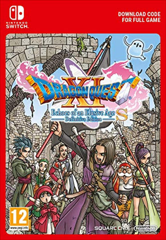 Dragon Quest XI S: Echoes of an Elusive Age –  Definitive Edition (Nintendo Switch Download Code)