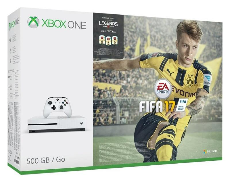 Xbox One S FIFA 17 Bundle (500GB) - Offer Games