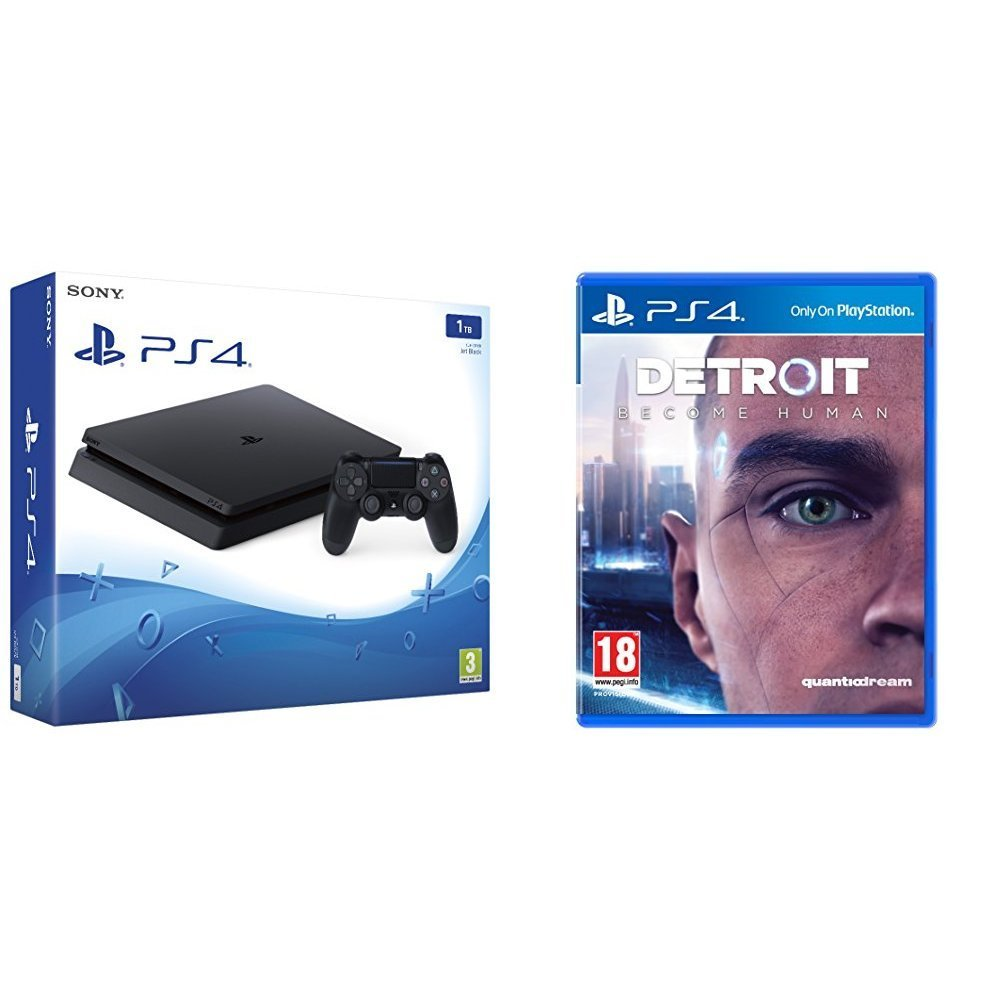 PlayStation 4 1TB + Shadow of the Colossus - Offer Games