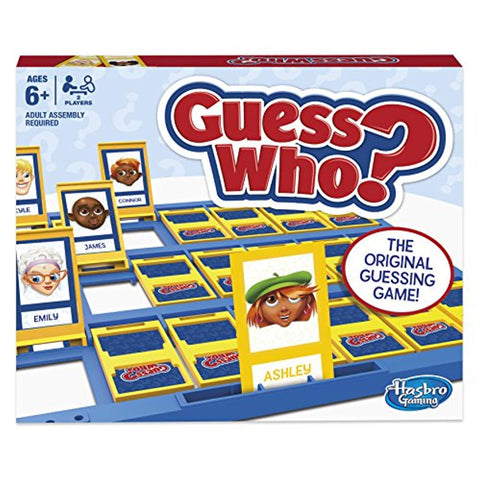 Hasbro Gaming Guess Who? Classic Board Game - Offer Games