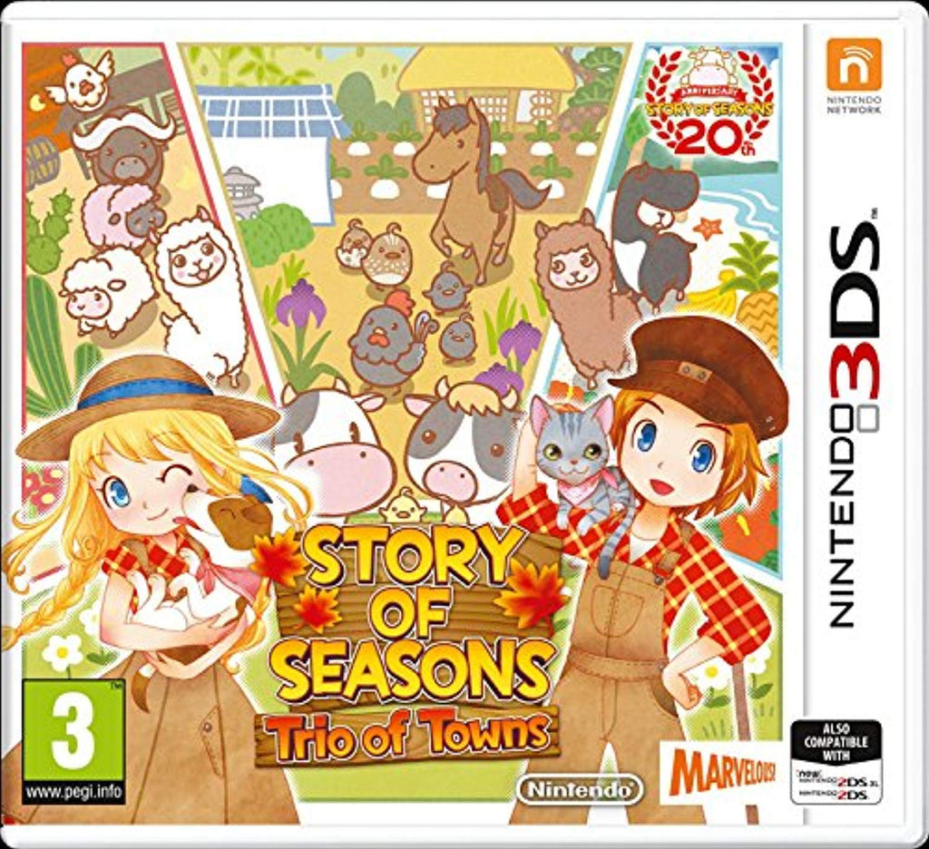 Story of Seasons 2: Trio of Towns (3DS) - Offer Games
