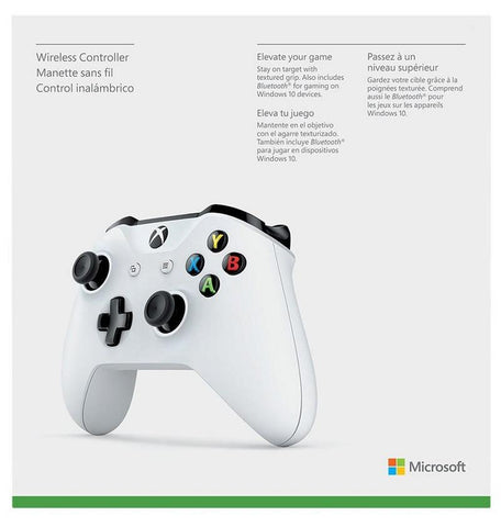 Xbox One White Wireless Controller - Offer Games
