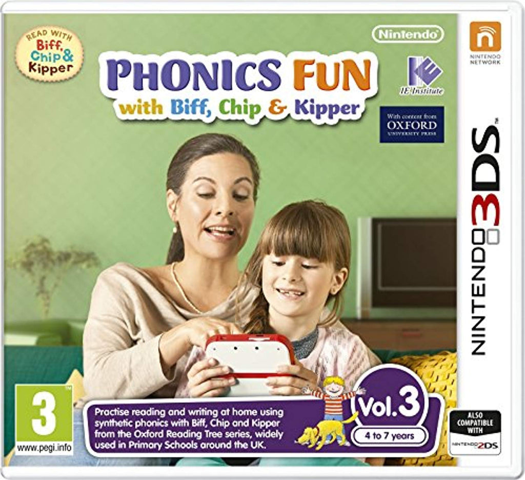 Nintendo Phonics Fun with Biff, Chip & Kipper Vol.3 (3DS) - Offer Games