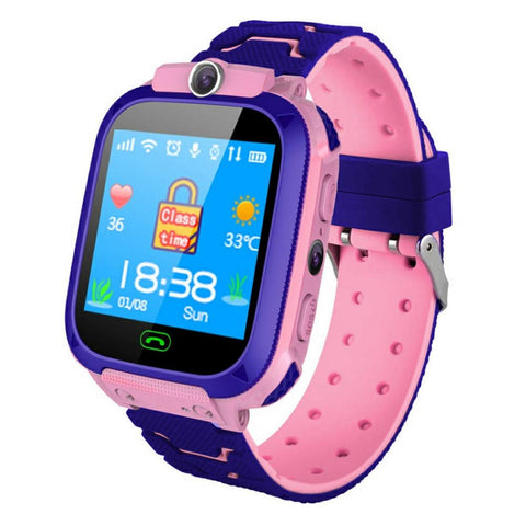 ZLOPV Smart Watch Waterproof Kids Tracker - Offer Games
