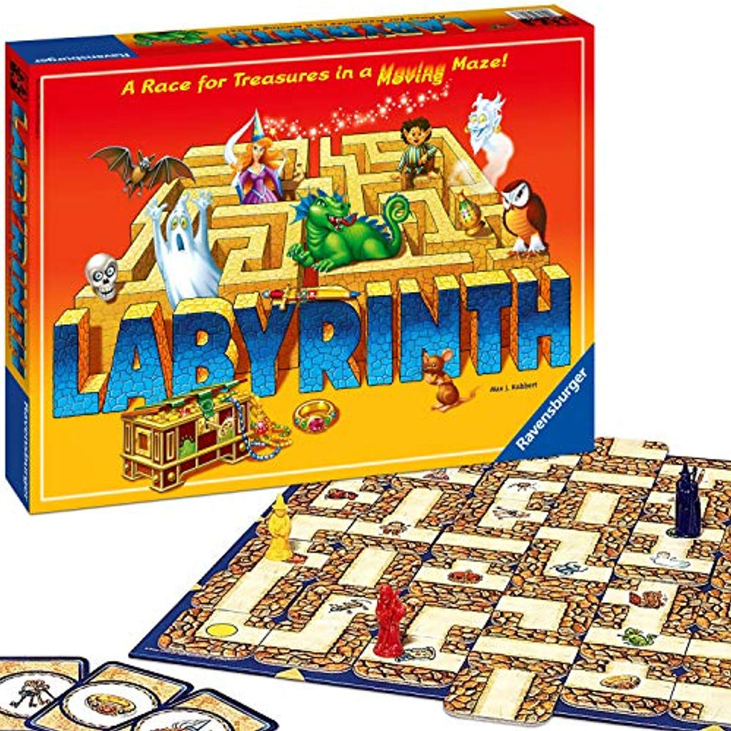 Ravensburger Labyrinth - The Moving Maze Board Game - Offer Games