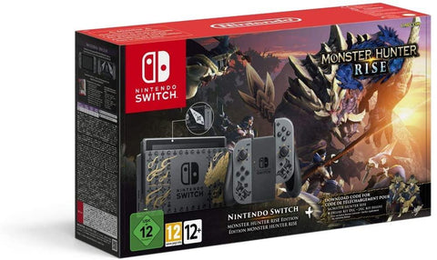 Nintendo Switch (Monster Hunter Rise Edition)
