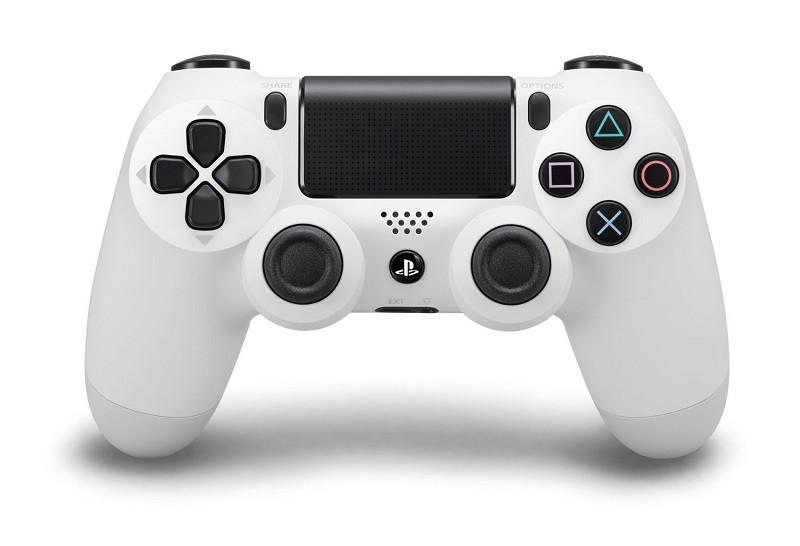 Sony PlayStation DualShock 4 - Glacier White - Offer Games