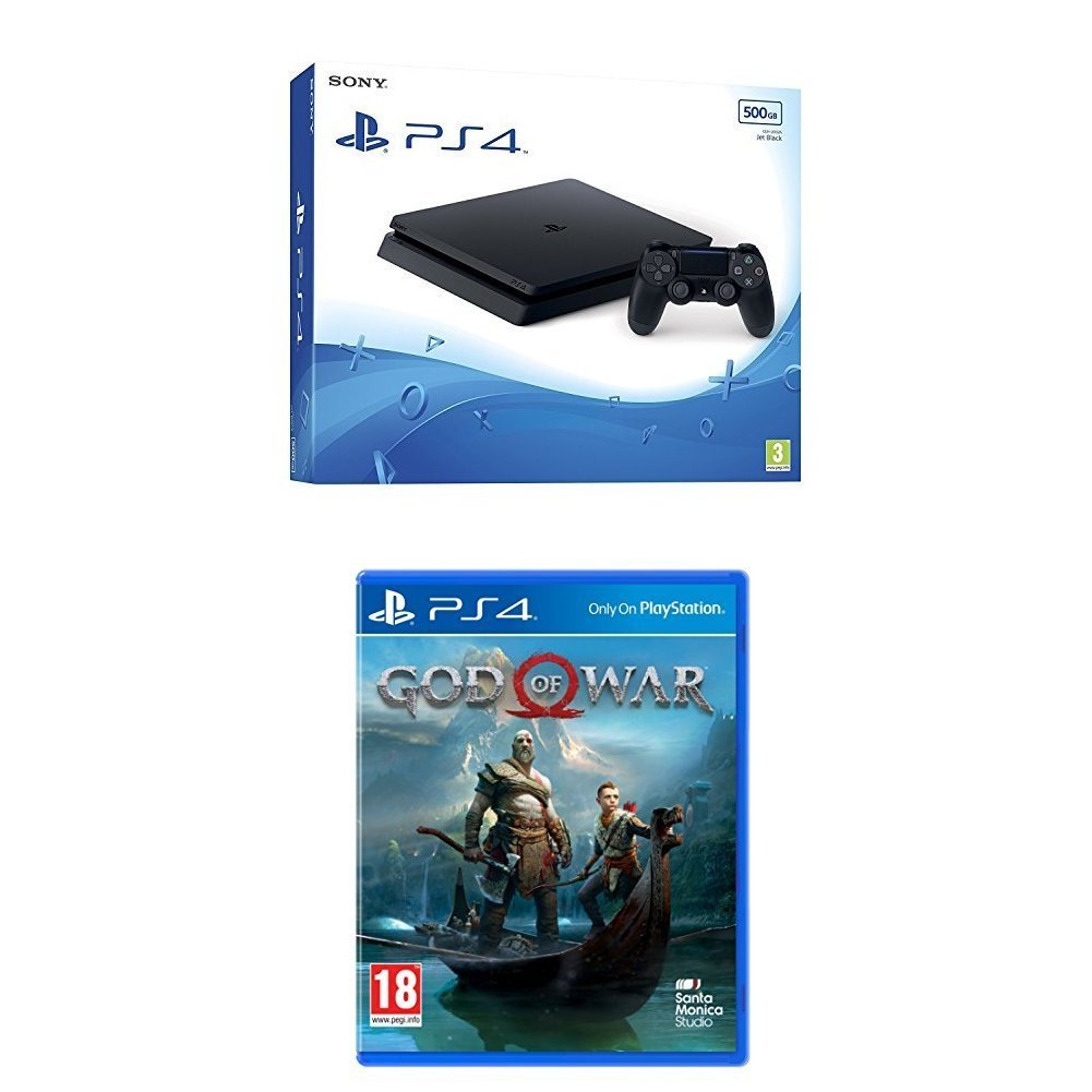 PlayStation 4 500GB + God of War - Offer Games