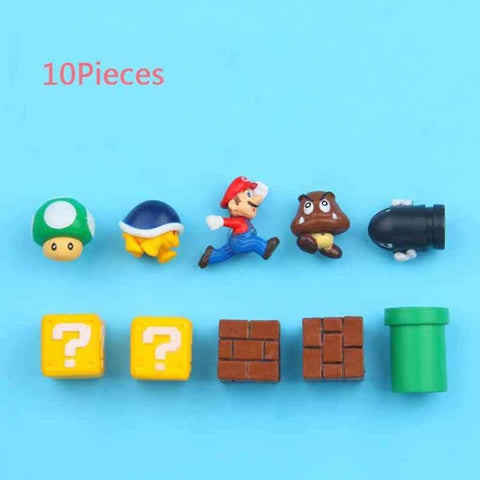3D Super Mario Fridge Magnets - Offer Games