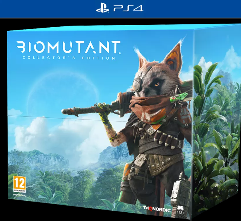 Biomutant Collectors Edition (PS4) - Offer Games