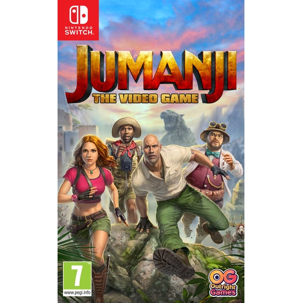 Jumanji: The Video Game (Nintendo Switch) - Offer Games