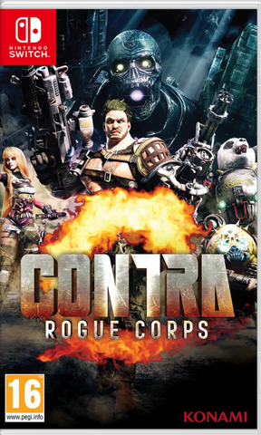 Contra: Rogue Corps (Nintendo Switch) - Offer Games