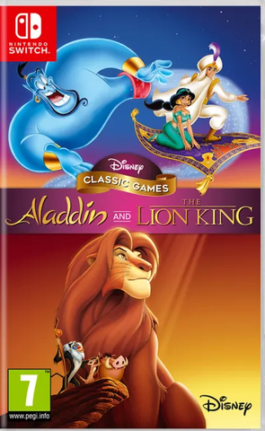 Disney Classic Games: Aladdin and The Lion King (Nintendo Switch) - Offer Games