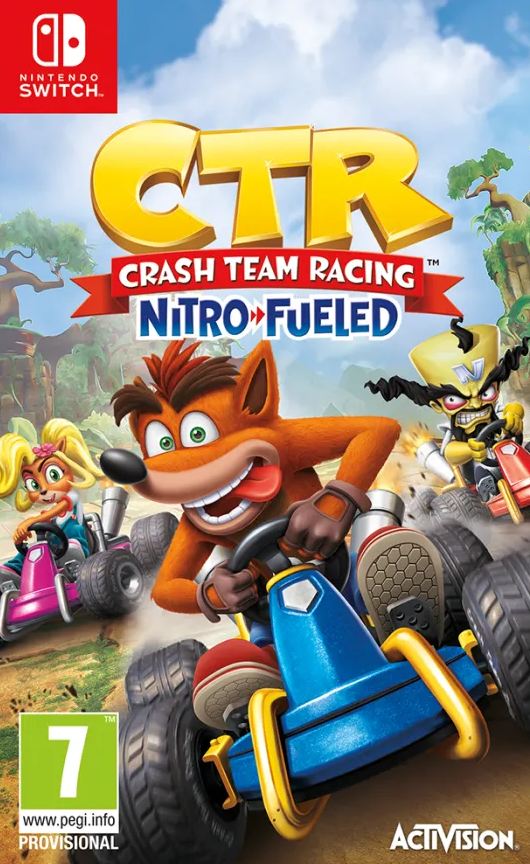 Crash Team Racing - Nitro Fueled (Nintendo Switch) - Offer Games