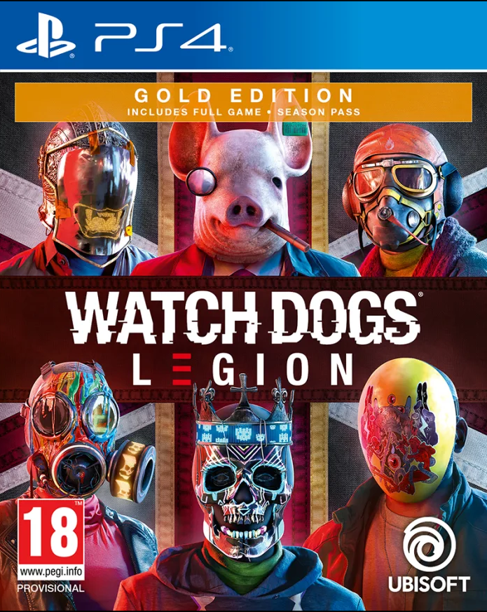 Watch Dogs Legion Gold Edition (PS4) - Offer Games