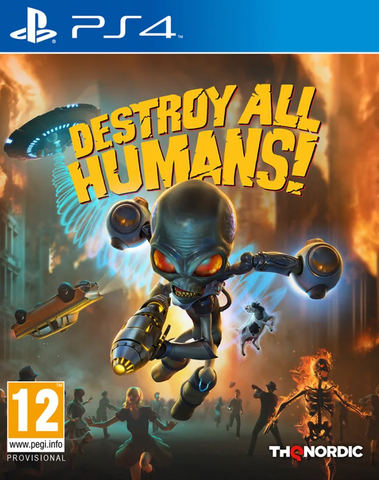 Destroy All Humans Remake (PS4)