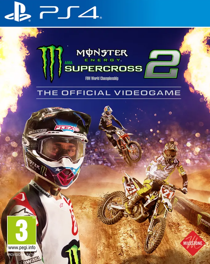 Monster Energy Supercross 2 (PS4) - Offer Games