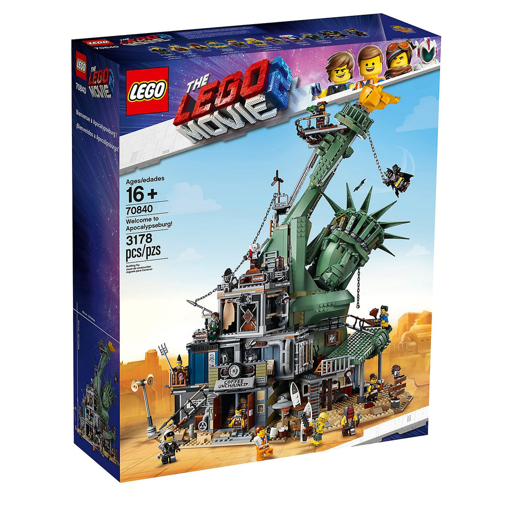 LEGO 70840 THE LEGO MOVIE 2™ Apocalypseburg model - Offer Games