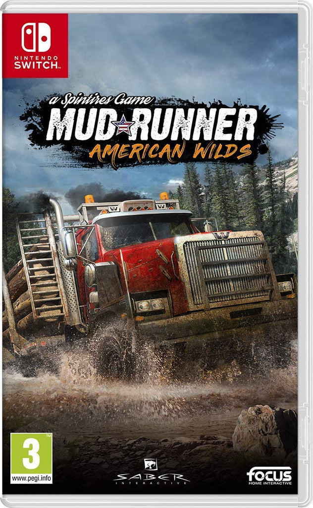 Spintires: MudRunner - American Wilds Edition (Nintendo Switch) - Offer Games
