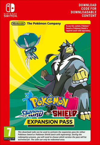 Pokémon Sword and Pokémon Shield Expansion Pass (Nintendo Switch Download) - Offer Games