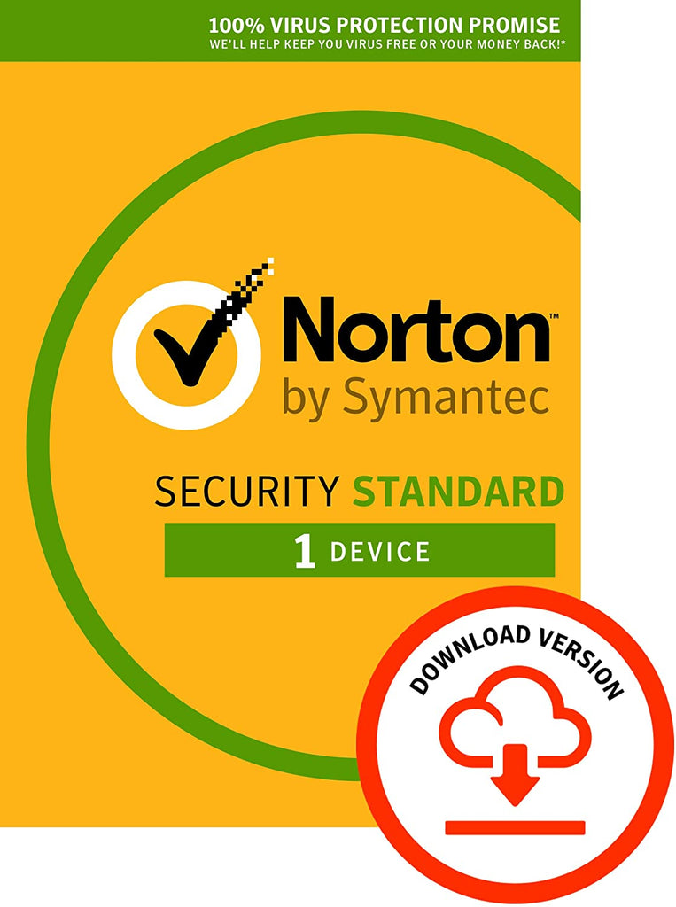 Norton Security Standard 2019 | 1 Device |1 Year (PC/Mac Download Code)