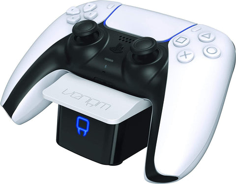 Venom PS5 Controller Twin Docking Station - White (PS5)