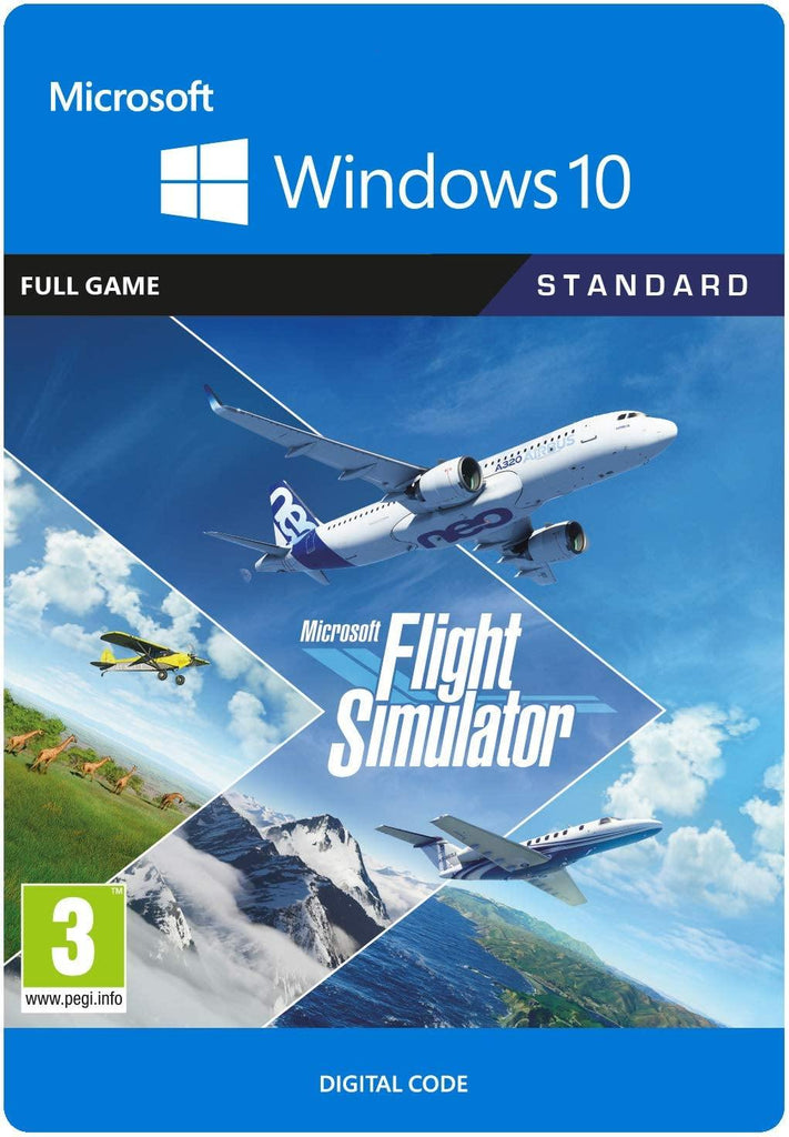 Microsoft Flight Simulator Standard (PC Download Code)