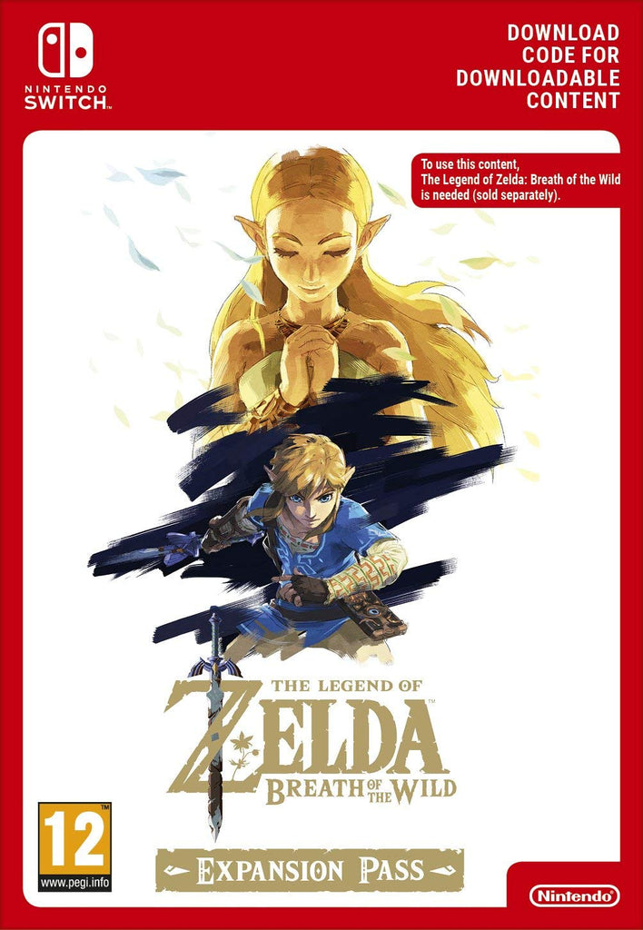 The Legend of Zelda: Breath of the Wild Expansion Pass DLC (Nintendo Switch Download) - Offer Games