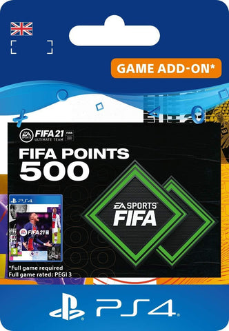 FIFA 21 Ultimate Team - FIFA Points (PS4 Download Code)