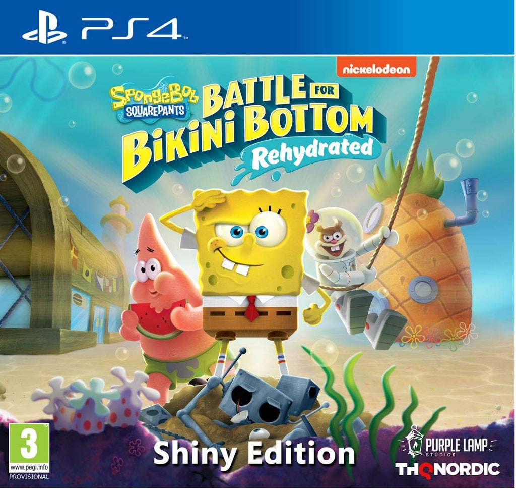 SpongeBob Squarepants: Battle For Bikini Bottom - Rehydrated - Shiny Edition (PS4) - Offer Games