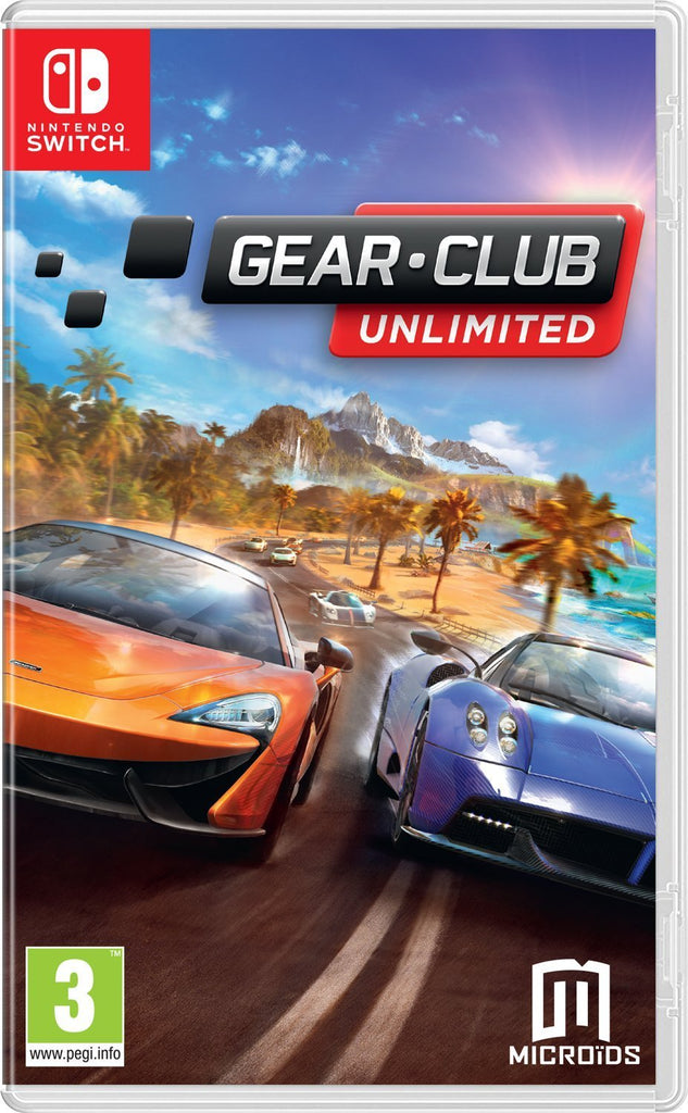 Gear. Club Unlimited (Nintendo Switch) - Offer Games