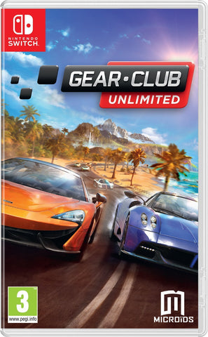 Gear. Club Unlimited (Nintendo Switch) - GameIN