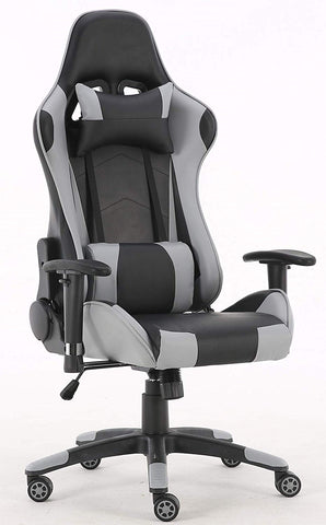Millhouse Gaming Racing Desk Chair Adjustable Computer Chair Lumbar and Head Pillow Chair