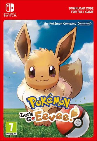 Pokémon: Let's Go, Eevee! (Nintendo Switch Download)