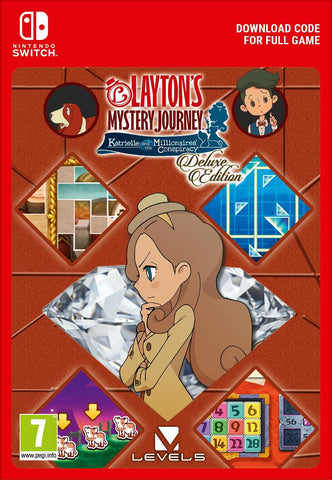 LAYTON'S MYSTERY JOURNEY: Katrielle and the Millionaires' Conspiracy (Nintendo Switch Download)