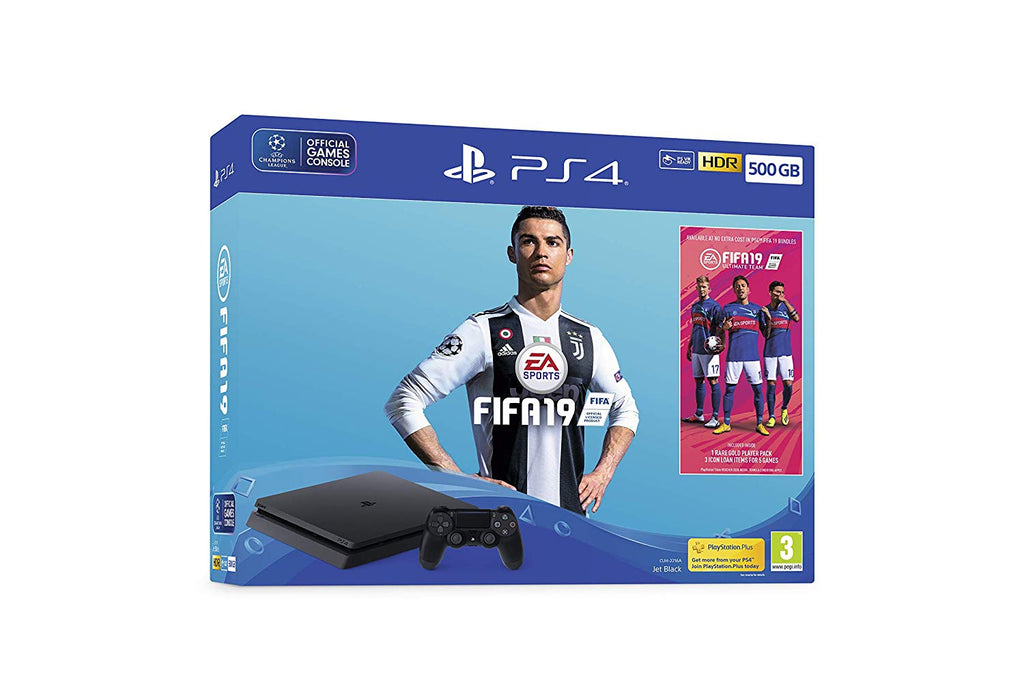 PlayStation 4 500GB + FIFA 19 - Offer Games