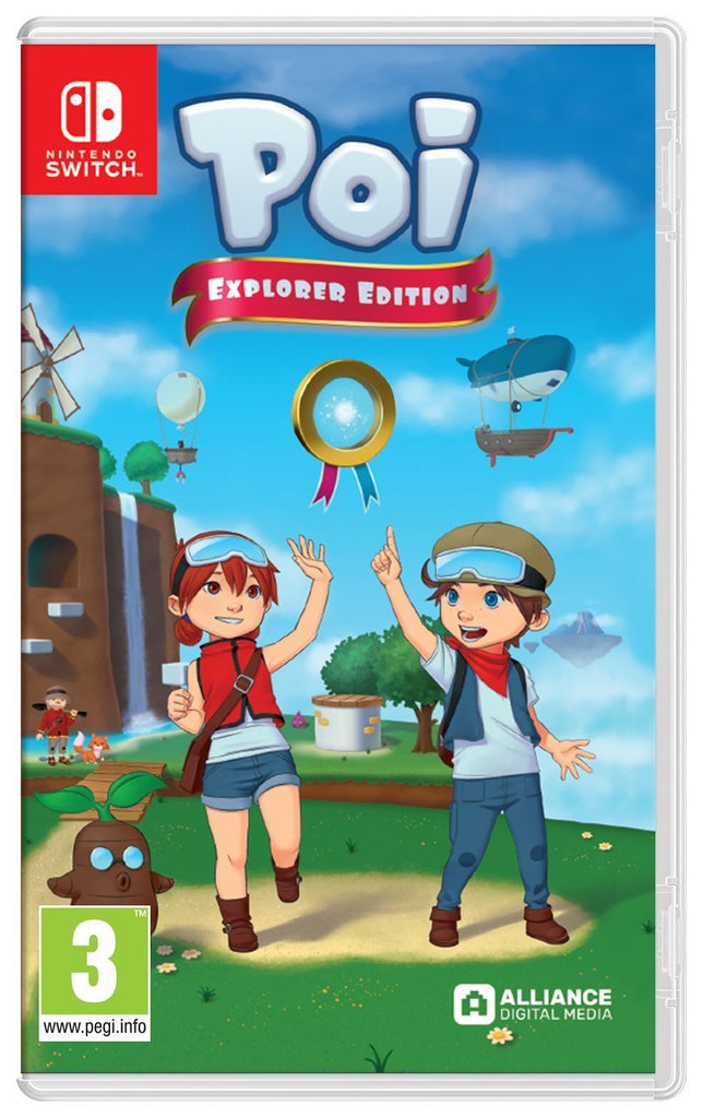Poi Explorer Edition (Nintendo Switch) - Offer Games