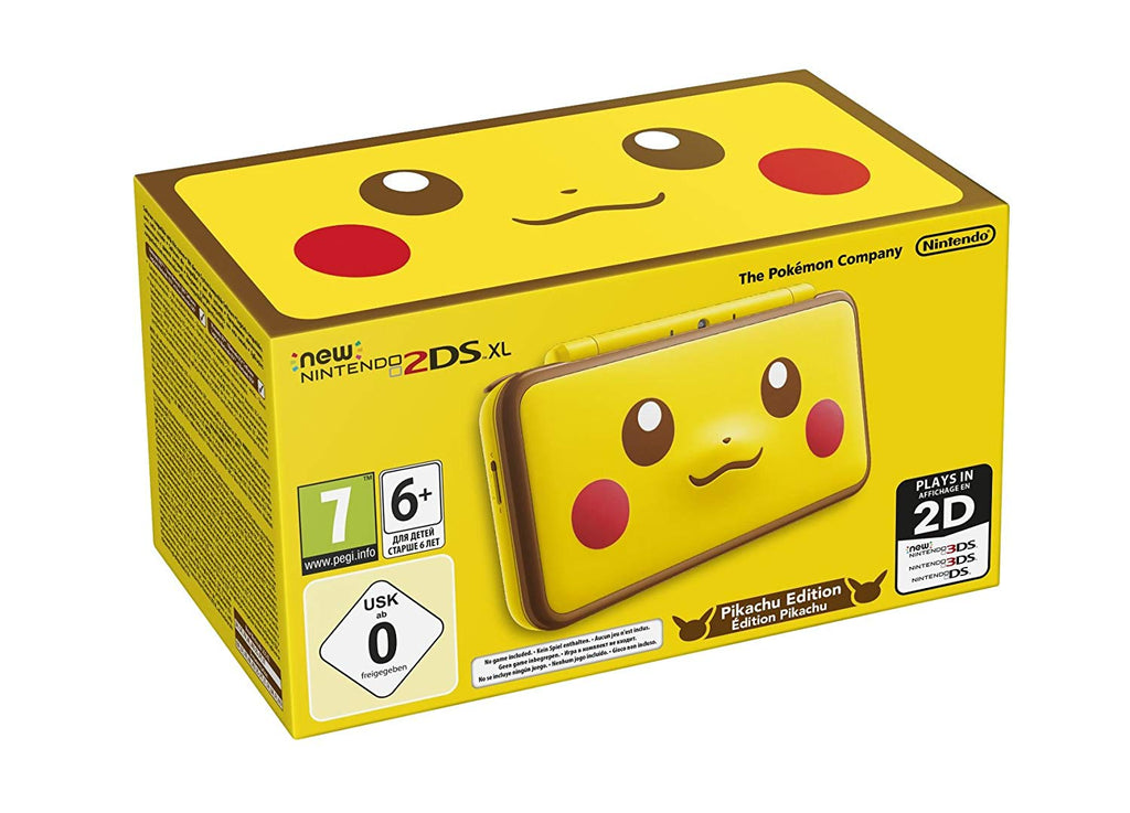 New Nintendo 2DS XL - Pikachu Edition - Offer Games
